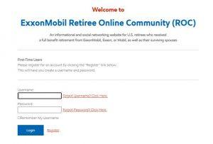 Exxonmobil Employee Benefits Login