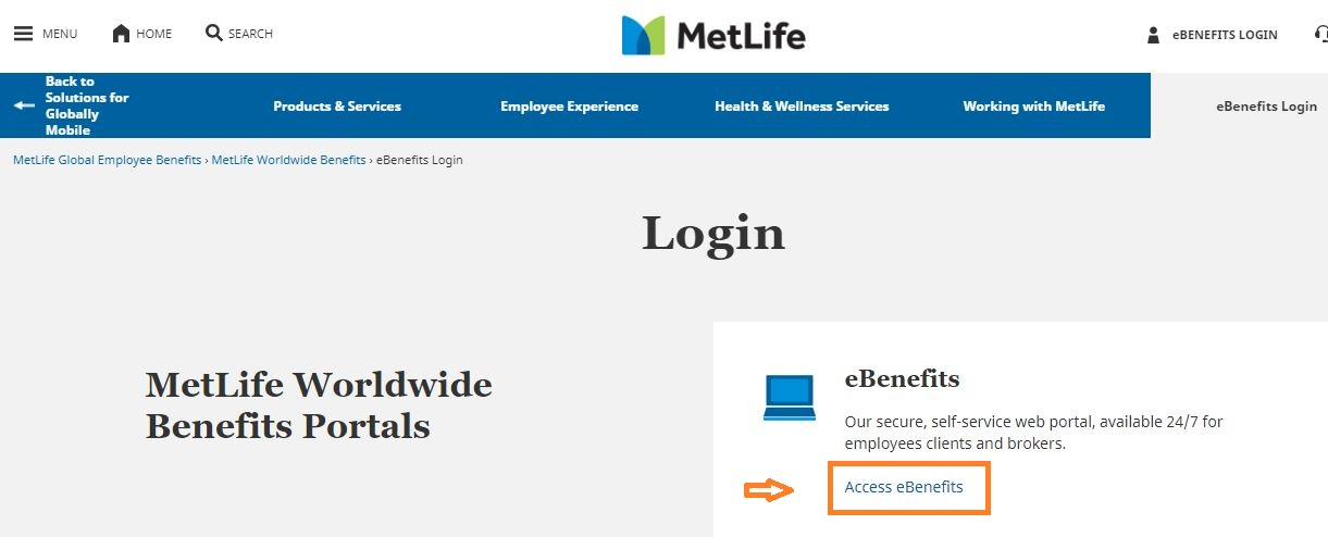 Metlife Employee Benefits Login