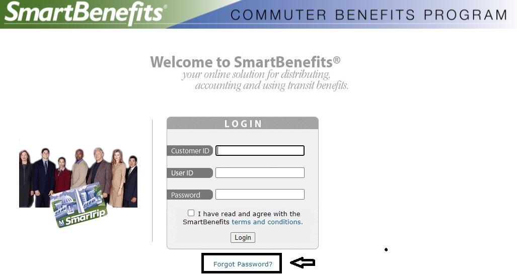 Smart Benefits Employee Login forgot password 1
