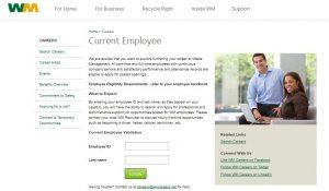 Waste Management Employee Benefits Login
